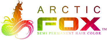 arctic fox logo hair factory salon